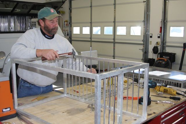 custom aluminum dog crates made by brian johnson or email brian below please do not contact sharp kennel