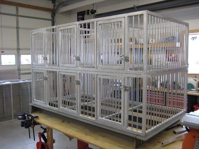 Custom Aluminum Dog Crates